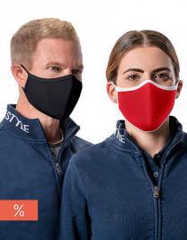 Premium Mund-Nasen-Maske (AFNOR Standard zertifiziert; 3er Set)